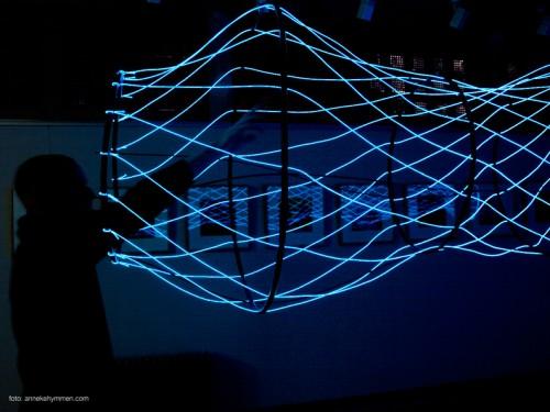 Led Art Interactive Light Art And Design